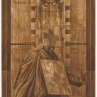 Charles White—Leonardo da Vinci. Curated by David Hammons At MOMA