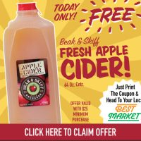 Free Apple Cider Today Only At Best Market In Harlem!