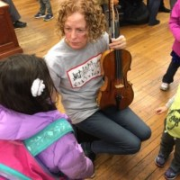 Met Orchestra Musicians And Gale Brewer Perform At Harry Belafonte Library In Harlem (Photographs)