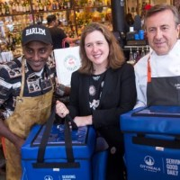 Chef Marcus Samuelsson, Daniel Boulud And Beth Shapiro Deliver Citymeals On Wheels In Harlem