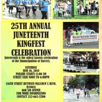 The 25th Annual Juneteenth Kingfish Celebration  2018