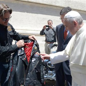 Vatican Pope Harley Davidson