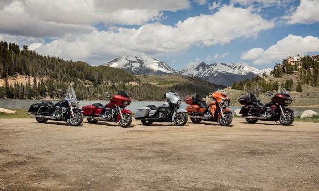 Motocykel Harley-Davidson touring 2019