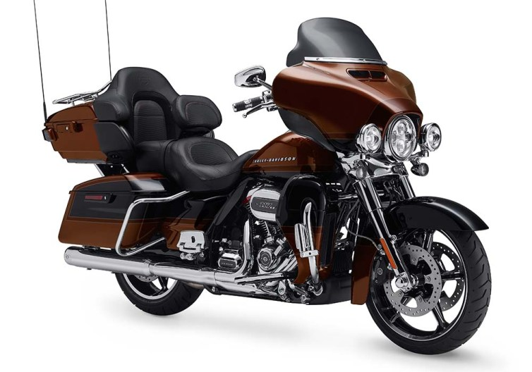 Motocykel Harley-Davidson CVO Limited