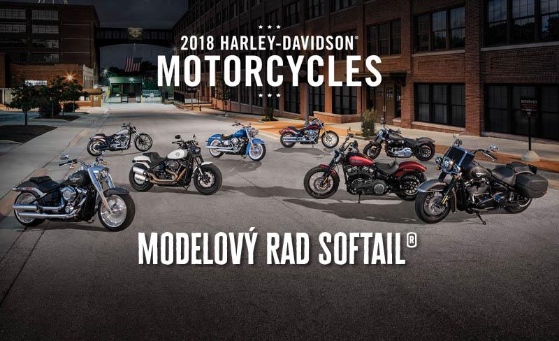 Nové motocykle Harley-Davidson Bratislava modely Softail 2018