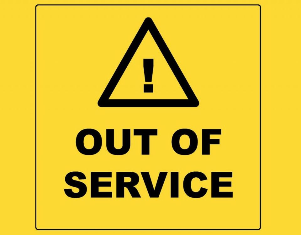 Out of service 2