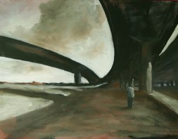 Manifold_Harley_The_Quiet_2007_Oil_on_board_35x45