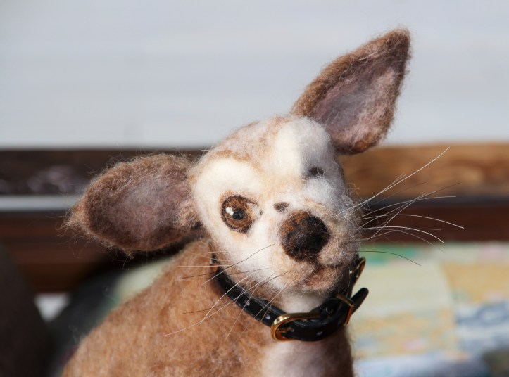 Felted Harley by Lori Welch (2)