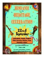 Hispanic Heritage Celebration @ Harlingen Public Library - Courtyard & Auditorium