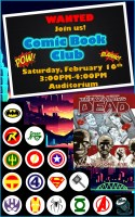 Comic Book Club! @ Harlingen Public Library - Auditorium