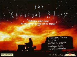 True Story Cinema - The Straight Story @ Harlingen Public Library - Auditorium