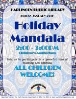 Holiday Mandala @ Children's Auditorium