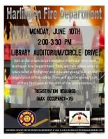 Harlingen Fire Department @ Harlingen Public Library - Library Auditorium