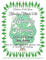 Mandala Monday @ Harlingen Public Library - Library Auditorium