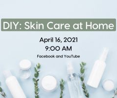 DIY: Skin Care at Home (Facebook & YouTube) @ Harlingen Public Library - Auditorium