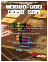 Table Top Games Day @ Harlingen Public Library - Auditorium