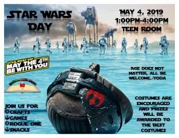 Star Wars Day @ Harlingen Public Library- Teen Room