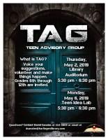 TAG Meeting @ Harlingen Public Library - Auditorium