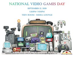 National Video Games Day @ Harlingen Public Library- Teen Room