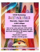 Sweet Molecules @ Harlingen Public Library - Conference