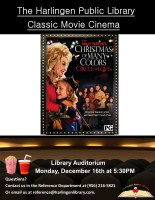 Classic Movie Cinema - Dolly Parton's Christmas of Many Colors: Circle of Love @ Harlingen Public Library - Auditorium