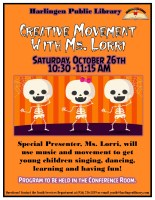 Creative Movement @ Harlingen Public Library Conference Room