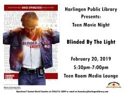Teen Movie Night @ Harlingen Public Library- Teen Room