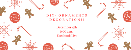 DIY Ornament Decoration (Facebook & YouTube)