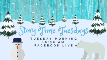 Story Time Tuesday @ Harlingen Public Library Facebook Page