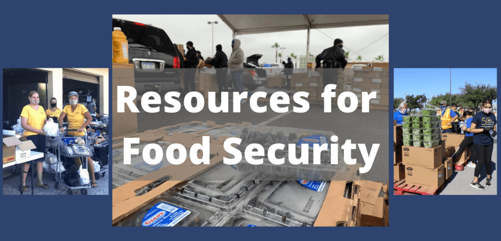 Resources for Food Security
