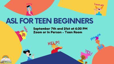 Teen ASL for Beginners