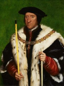 Anne's uncle, Thomas Howard, 3rd Duke of Norfolk, by Holbein