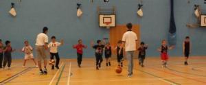 Hawks U8's training session