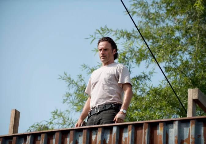 Andrew Lincoln as Rick Grimes - The Walking Dead _ Season 6, Episode 7 - Photo Credit; Gene Page/AMC