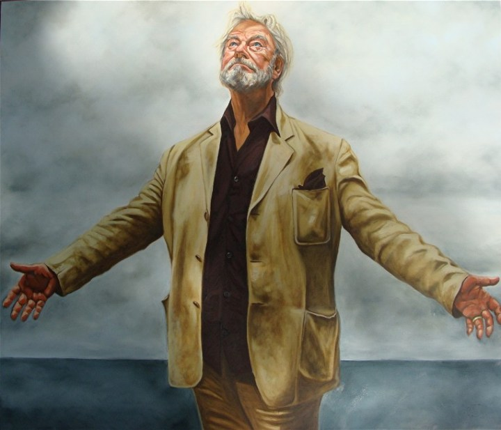 If Ever I Saw Your Face Portrait of Gordon Pinsent, 36 x 46, oil on panel, 2011 Winner Star Portraits
