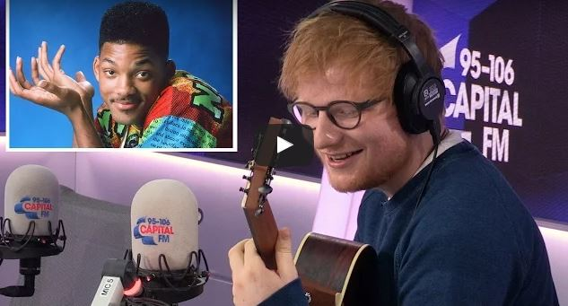 Watch: Ed Sheeran Covers 'The Fresh Prince' Theme