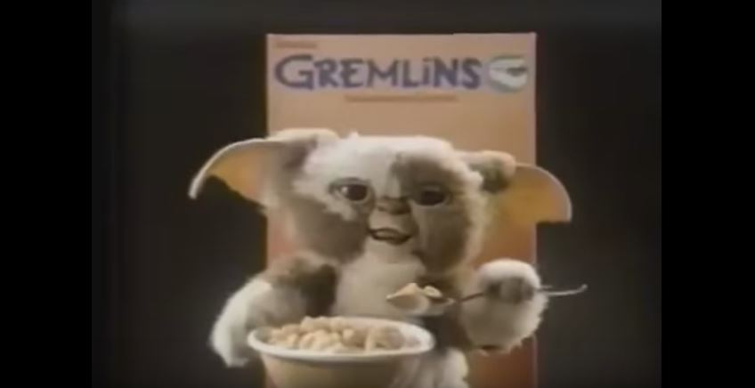 Watch: 80's Gremlins Cereal Commercial