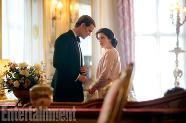 The Crown (L to R) Matt Smith, Claire Foy