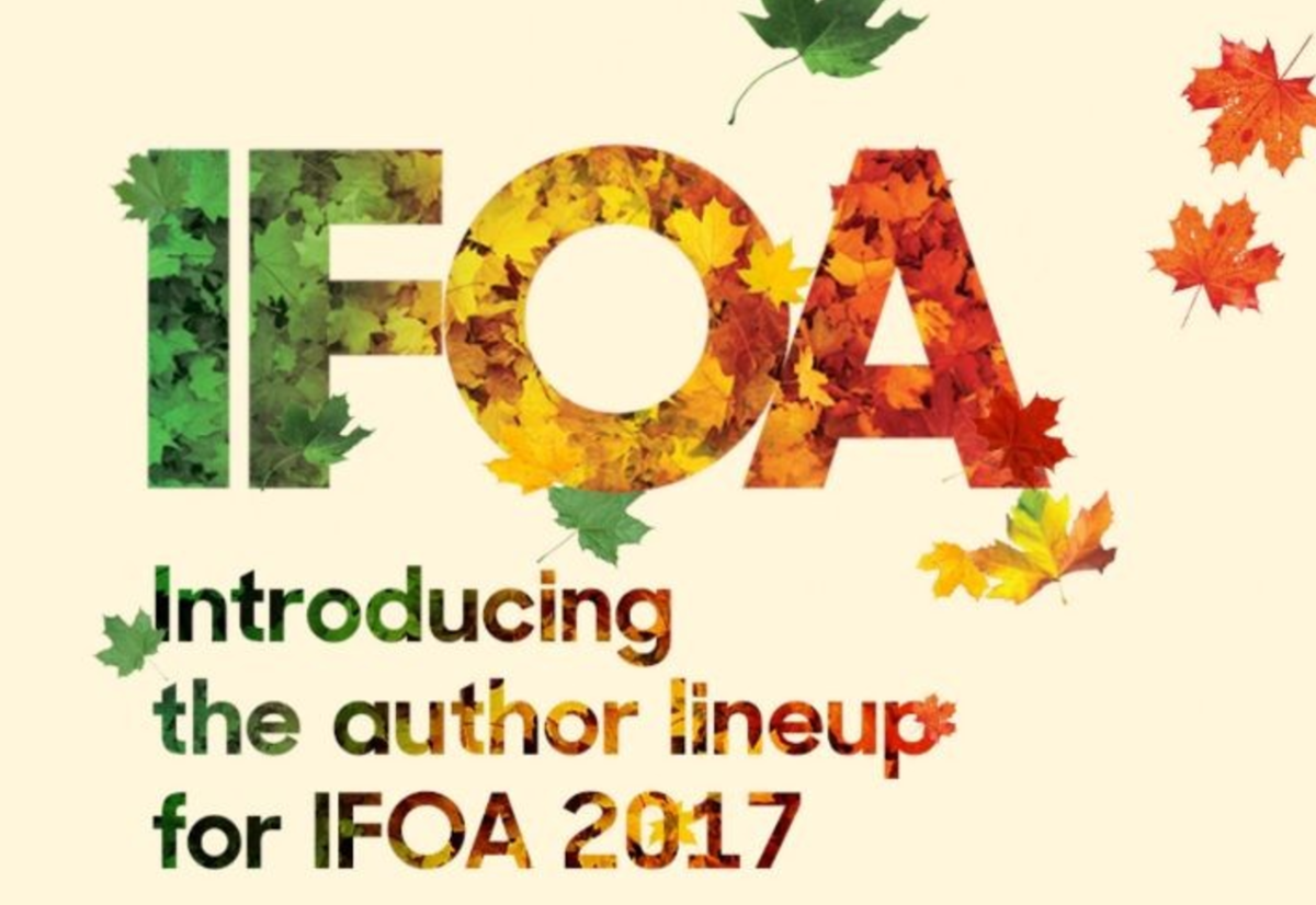Toronto's International Festival of Authors Returns October 2017