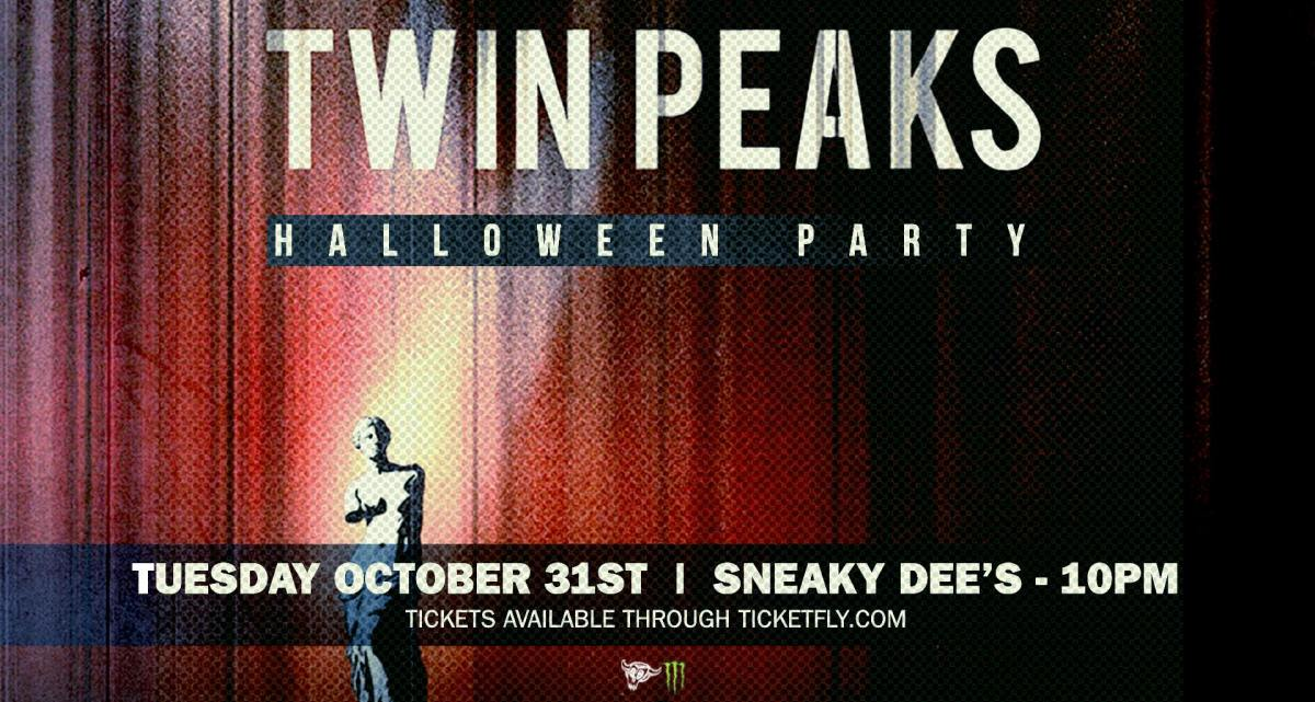 Twin Peaks Halloween Party At Sneaky Dee's-October 31 2017