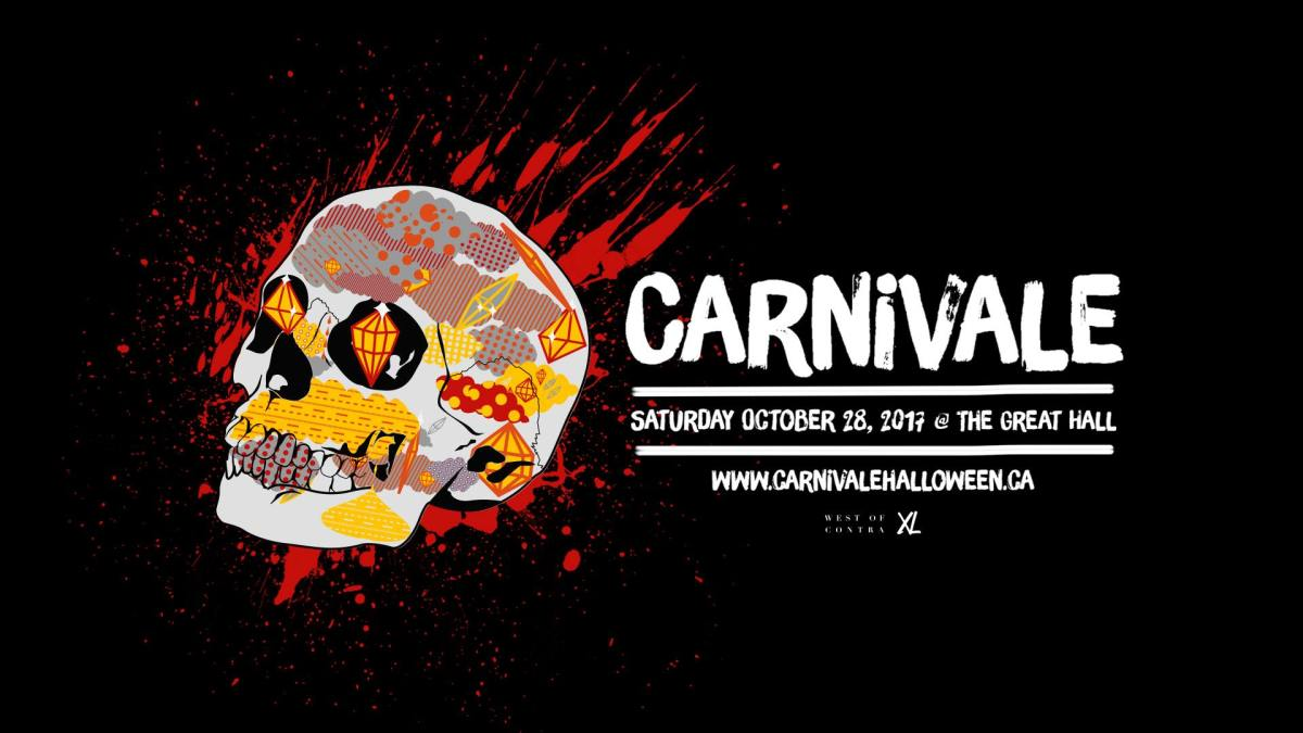 Carnivale Halloween: The Great Hall-Oct 28 2017