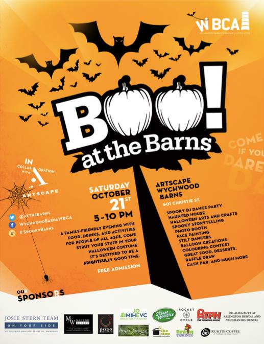 Boo! At The Barns: Wychwood Barns-October 21, 2017