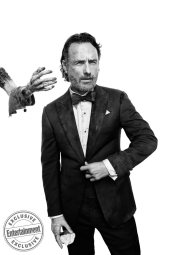 Andrew Lincoln from the cast of The Walking Dead photographed exclusively for Entertainment Weekly by Art Streiber on June 24th. 2017 in Senoia Georgia. Styling: Elaine Montalvo Prop Styling: John Sanders Costumers: Mia Nunnally, Derrick Vener