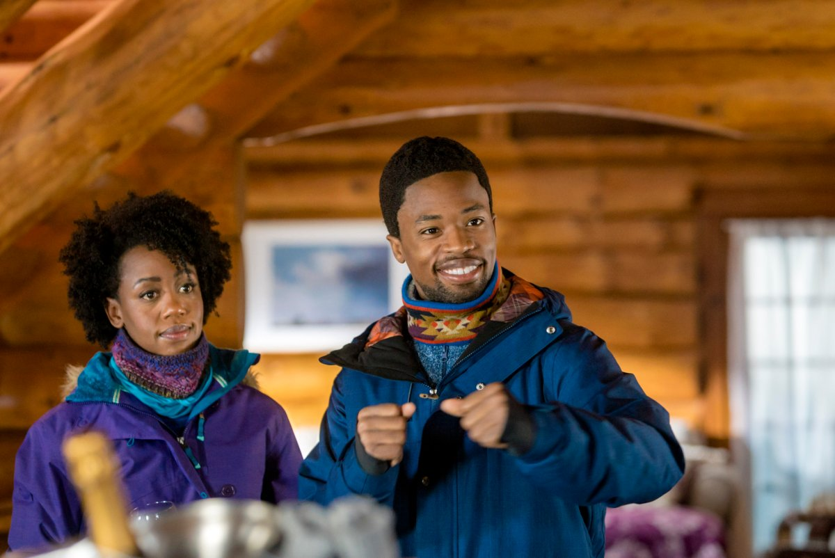 "Exclusive: An Interview With Rukiya Bernard From ""One Winter Weekend"" A Hallmark Channel Winterfest Original Movie (2018)"