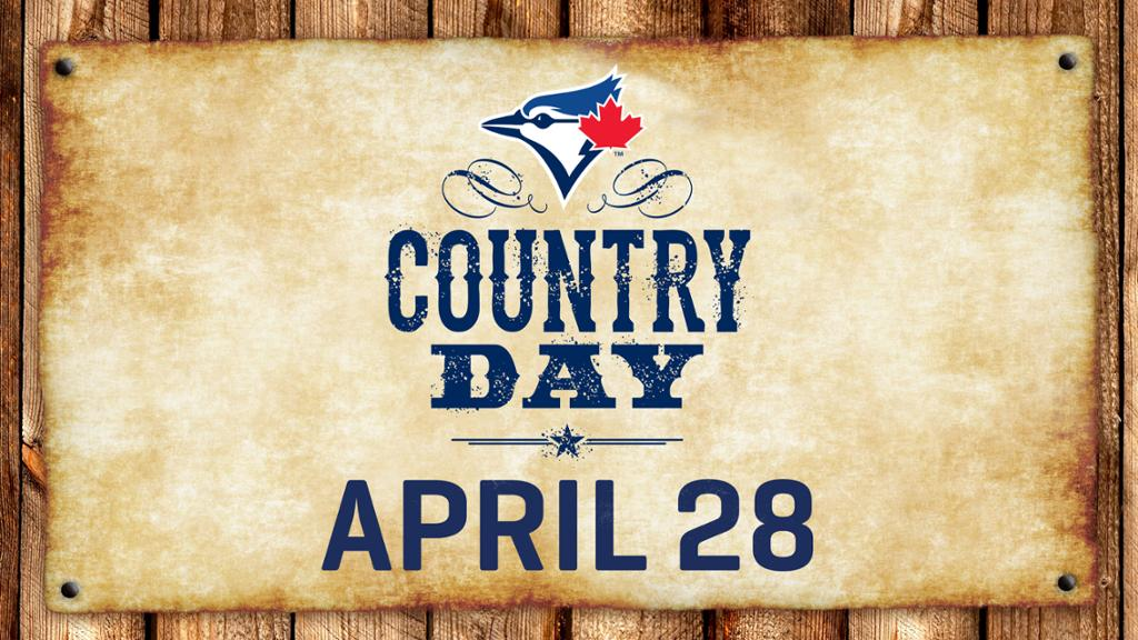 "Don't Miss: Toronto Blue Jays ""Country Day"""