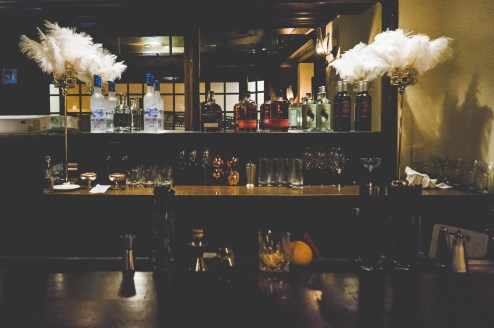 Toronto's hidden gem, York Station bar, resurrected and transformed into Carraway's, a 1920's speakeasy pop-up serving cocktails inspired by Gatsby