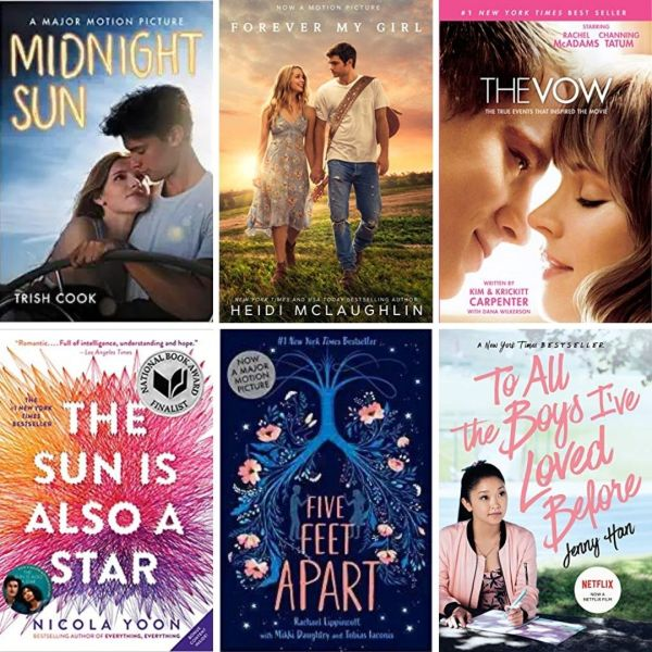 romance novels that inspired movies