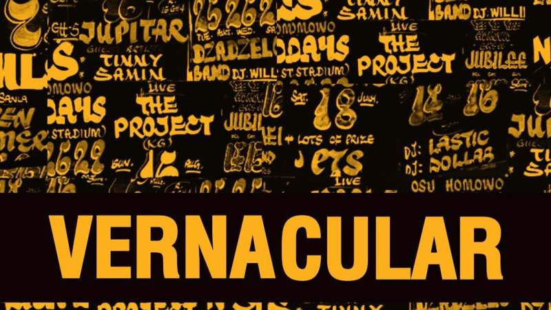 VERNACULAR - A typography design exhibition    Playlist