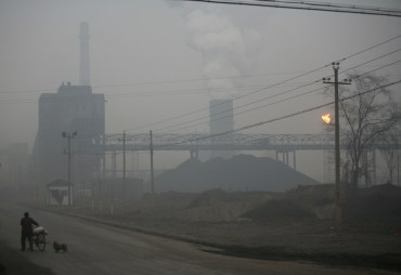 Coal pollution and global warming in Linfen China