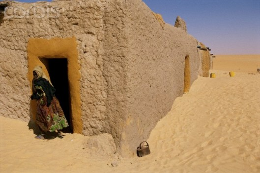 Chief's house in Araouane, Mali